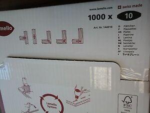 Boite de 1000 lamello n° 10