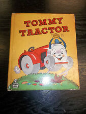 timeworn TOMMY TRACTOR Tell-A-Tale Book 881 by GE McPHERSON ROSEMARY BUEHRIG art