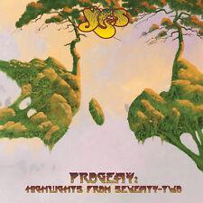 Progeny: Highlights From Seventy-Two - 2 DISC SET - Yes (2015, CD NEUF)