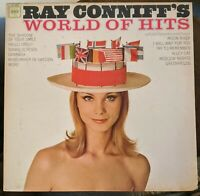 Ray Conniffs World Of Hits with his orchestra and chorus Columbia CL2500 Mono lp
