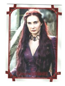Game Of Thrones Iron Anniversary Red Parallel #61 Melisandre 46/50
