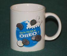 Oreo Coffee Mug -- How do you eat an Oreo?