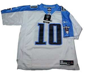 TENNESSEE TITANS  REEBOK NFL THROWBACK PLAYER FOOTBALL JERSEY - #10 VINCE YOUNG