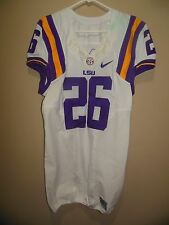 LSU GAME USED FOOTBALL JERSEY