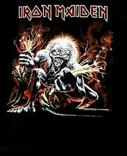 IRON MAIDEN cd cvr A REAL LIVE ONE WIRE Official SHIRT MED New eddie