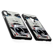 UK Newspaper Creative Face Old Photo Camera Nails Hard Phone Case Cover Plastic