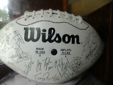Wilson official NFL commissioner 1995 KC CHIEFS  Ball ( in a box)