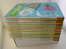 COMPLETE SET OF 15 SESAME STREET LIBRARY HARD COVER BOOKS VERY GOOD CONDITION