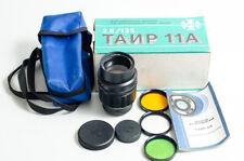 NEW! Tair-11A 2.8/135 135mm f/2.8 M42 SLR, Nikon Nikkor. Bokeh monster OLD STOCK