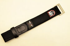 Watch band 22mm 26mm Black nylon  strap Navy Seal Series 3000 3900  Luminox