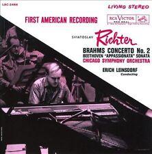 Brahms: Piano Concerto No. 2 / Beethoven: Piano Sonata No. 23,Op.57 ~ Richter