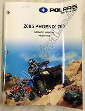 Polaris Phoenix ATV 200 2005 Genuine Service Manual P/N 9919968