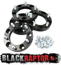 Black Raptor 30mm Aluminium Land Rover Defender Wheel Spacers 90 110