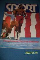 1973 Sport Magazine GEORGE FOREMAN vs Joe FRAZIER No Label NEWS STAND N/Label