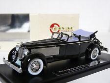 Esval EMUS43004D 1/43 1937 Duesenberg SJ Town Car Rollson Resin Model Car