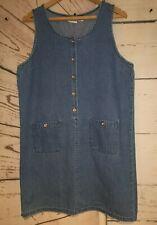Vintage Denim Dress Falls Creek Size L