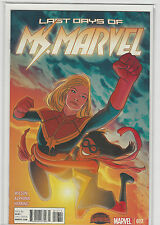 Ms Marvel #17 Marvel Comics 2014 First Print Captain Marvel NM