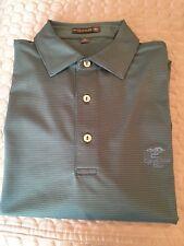 Cypress Point Golf Club polo shirt Peter Millar medium Rare Green pro shop