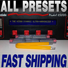 Eventide H3000 Upgrade--All H3500B-DFX Presets--Every possible preset!  Hightide