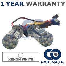 2X CANBUS WHITE H1 60 SMD LED DIPPED BEAM BULBS FOR HONDA ACCORD CR-V HR-V S2000