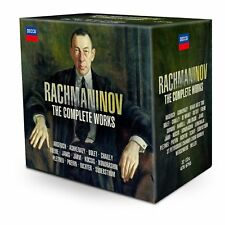 VARIOUS RACHMANINOV THE COMPLETE WORKS CD NEW LIMITED ED BOX SET