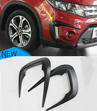 For Suzuki Vitara Escudo 2015 2016 2017 ABS Front Fog Eyebrow Lamp Cover Trim
