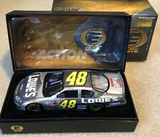 #48 JIMMIE JOHNSON LOWE'S / HMS 20TH ANNIVERSARY 2004 RCCA 1/24 ELITE #66 0F 900