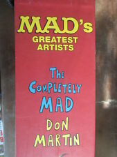 THE COMPLETELY MAD DON MARTIN - 2 VOL. IN SLIP-CASE BOX