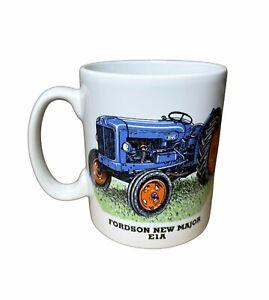 Boxed Fordson New Major E1A Vintage Tractor no exhaust, 1/2 pint stoneware mug