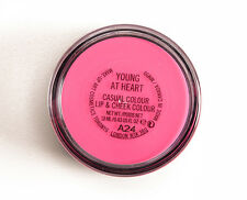 New MAC Young at Heart Cheek and Lip Color Cool Pink Cream Blush 2 in 1