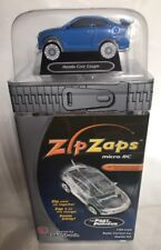 "ZipZaps Micro RC Radio Control Car - Blue Honda Civic Coupe  ""NEW"" **RARE**"