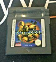 Asteroids - Nintendo Game Boy Original Game - UKV PAL - TESTED/WORKING