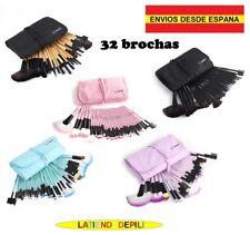 """kit set de brochas 7/32 Rosa, Lila, Negro, Celeste """"Envíos desde España"""""""