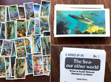 'The Sea, Our Other World' Brooke Bond Tea Cards 50 Complete Set Collection