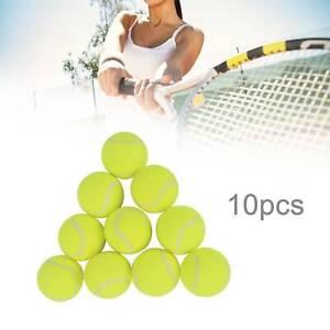 4/10/12/15/30 Tennis Ball Quality Sports Outdoor Fun Cricket Beach Dog Ball Game