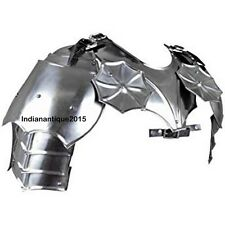 Armour Gothic Gorget with Pauldrons Silver- One Size