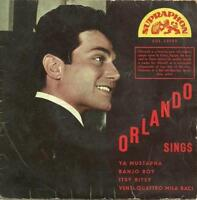 ORLANDO sings ADRIANO CELENTANO & JOHNNY HALLIDAY covers Czech EP 1962 ×LISTEN×