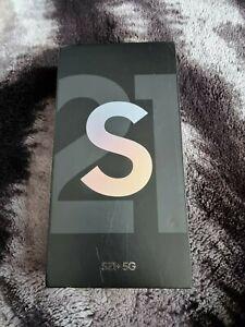 Samsung Galaxy S21+ 8GB /256GB 5G UK MDL Phantom Silver(Unlocked)(Sealed Box)
