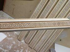 1 X Leiste Profile Gips Gipsstuck Versace Flachrelief Griechische Wandrelief