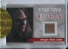 Star Trek Aliens Archive Exclusive Costume Card R1 Klingon Neck Collar