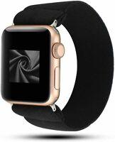For Apple Watch iWatch Series 5/4/3/2/1 Scrunchie Elastics Loop Band Strap
