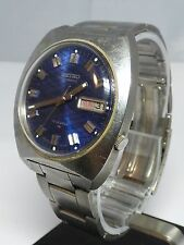 Rare Vintage SEIKO 7009-8009P Automatic Wristwatch - 17 Jewels - Stainless Band