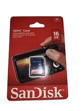 SanDisk SDHC Card 16GB New
