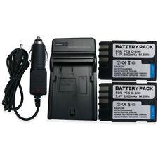Mains Charger +2x D-Li90 Battery for Pentax K-01 K-3 K-5 K-5 II IIs K3 K5 K7 K01
