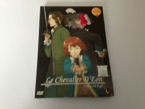 Le chevalier D'Eon Vol. 1 - 24 End Japanese Import DVD Collection English Subs