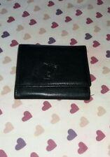 TOPMAN Gentlemans Black Leather Bifold Wallet.