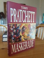 Terry Pratchett 1995 Maskerade Signed First Edition 5th Printing