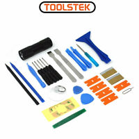 ACENIX 28 Pcs Repair Tools Screwdrivers Kit with UV Flashlight Torch For Phones