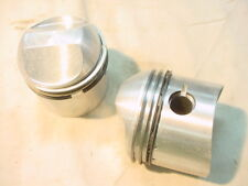 NEW NOS TRIUMPH 500 T100R 1967 TO 1974 PISTON SET PART #70-6884 STANDARD WITH RI