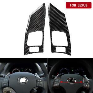 For Lexus IS250 350 2006-2012 Carbon Fiber Decor Inner Steering Wheel Trim Cover